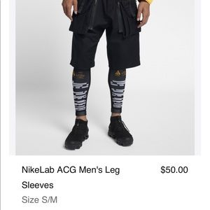 NikeLab ACG Men's Leg Sleeves